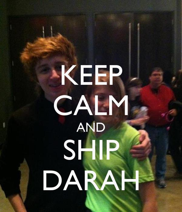 KEEP CALM AND SHIP DARAH