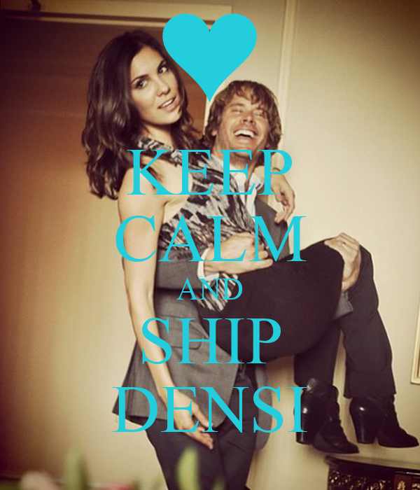 KEEP CALM AND SHIP DENSI