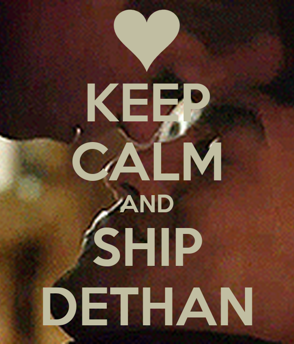 KEEP CALM AND SHIP DETHAN