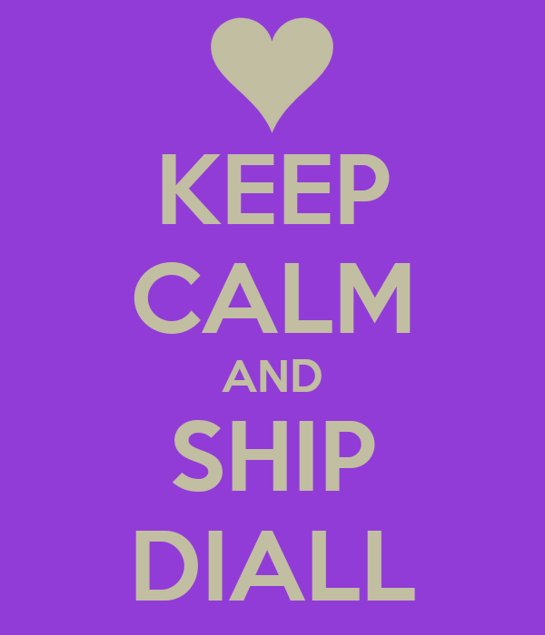 KEEP CALM AND SHIP DIALL