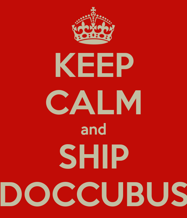 KEEP CALM and SHIP DOCCUBUS