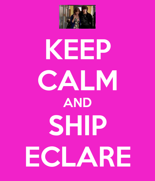 KEEP CALM AND SHIP ECLARE