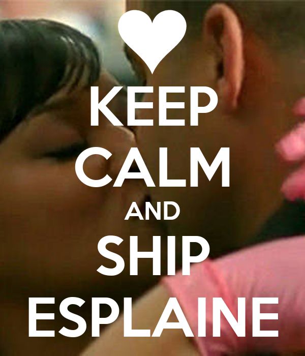 KEEP CALM AND SHIP ESPLAINE