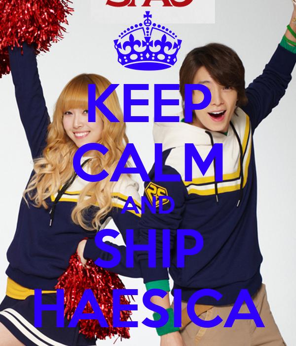 KEEP CALM AND SHIP HAESICA