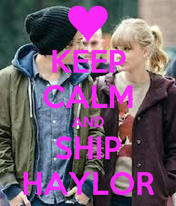 KEEP CALM AND SHIP HAYLOR