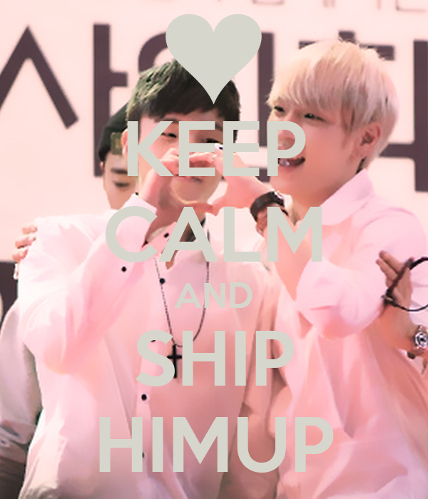 KEEP CALM AND SHIP HIMUP