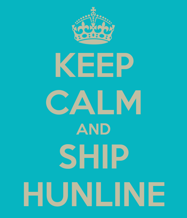 KEEP CALM AND SHIP HUNLINE