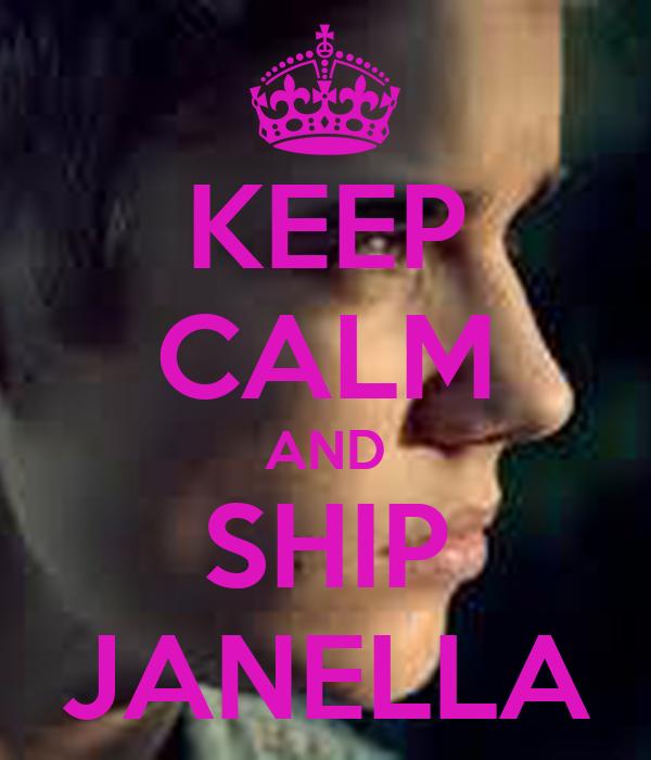 KEEP CALM AND SHIP JANELLA