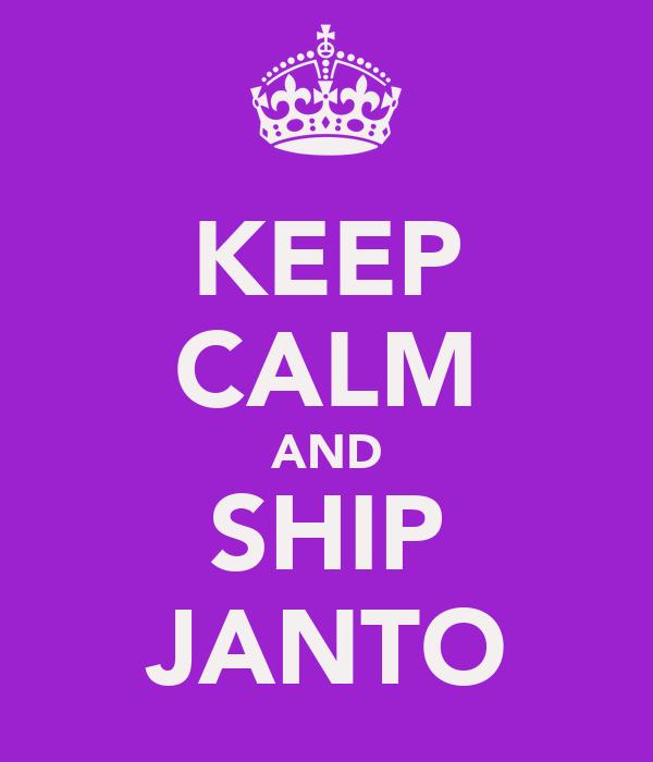 KEEP CALM AND SHIP JANTO