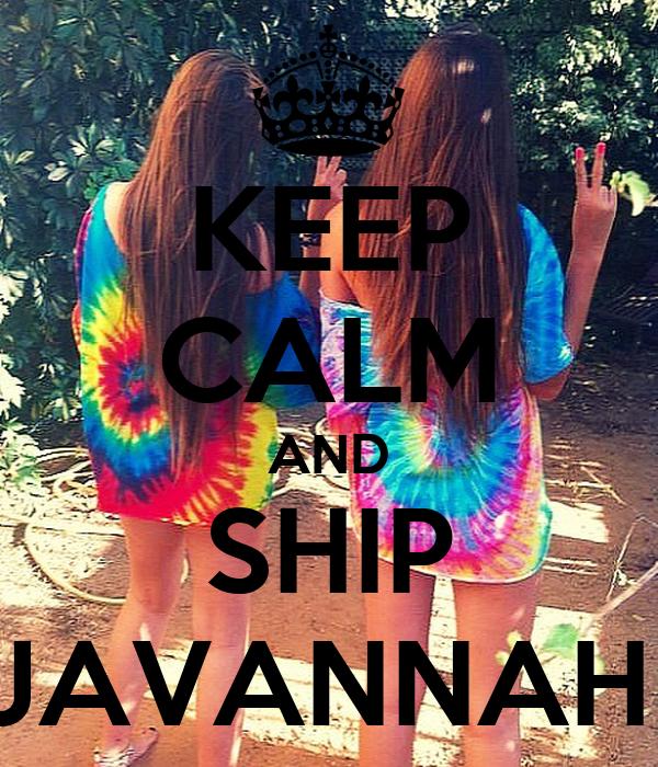 KEEP CALM AND SHIP JAVANNAH