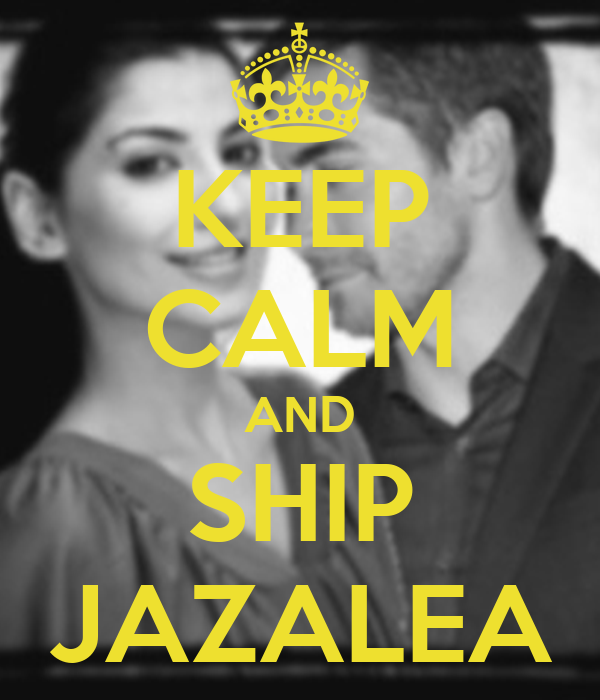 KEEP CALM AND SHIP JAZALEA