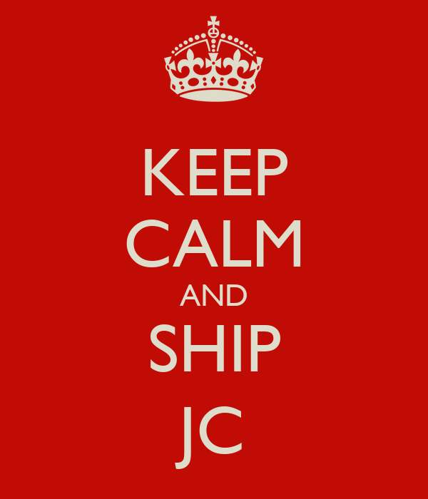 KEEP CALM AND SHIP JC