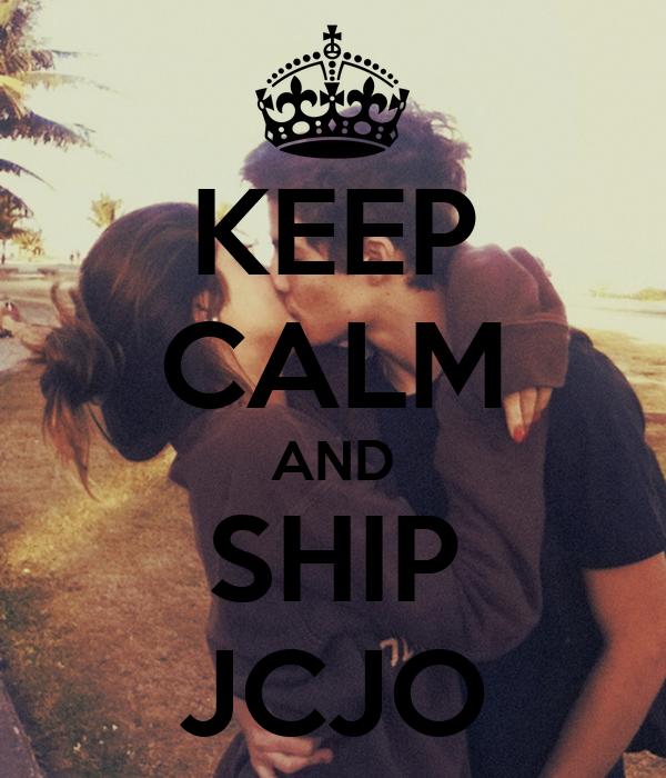 KEEP CALM AND SHIP JCJO