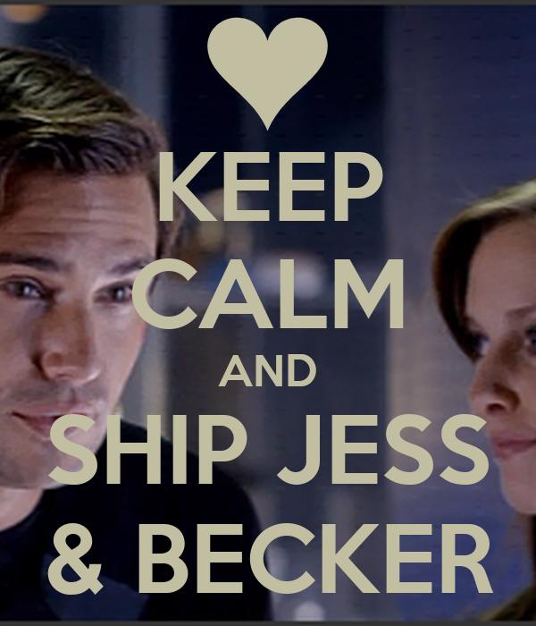 KEEP CALM AND SHIP JESS & BECKER