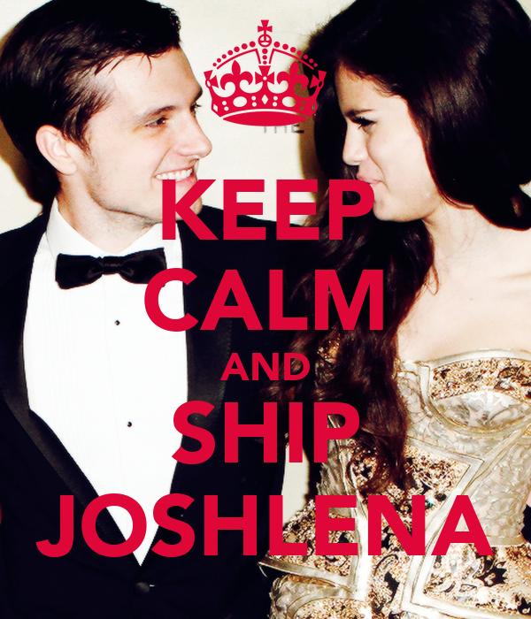 KEEP CALM AND SHIP JOSHLENA