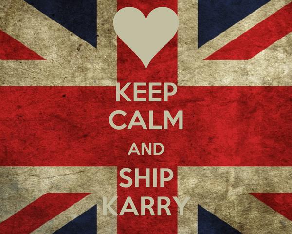 KEEP CALM AND SHIP KARRY