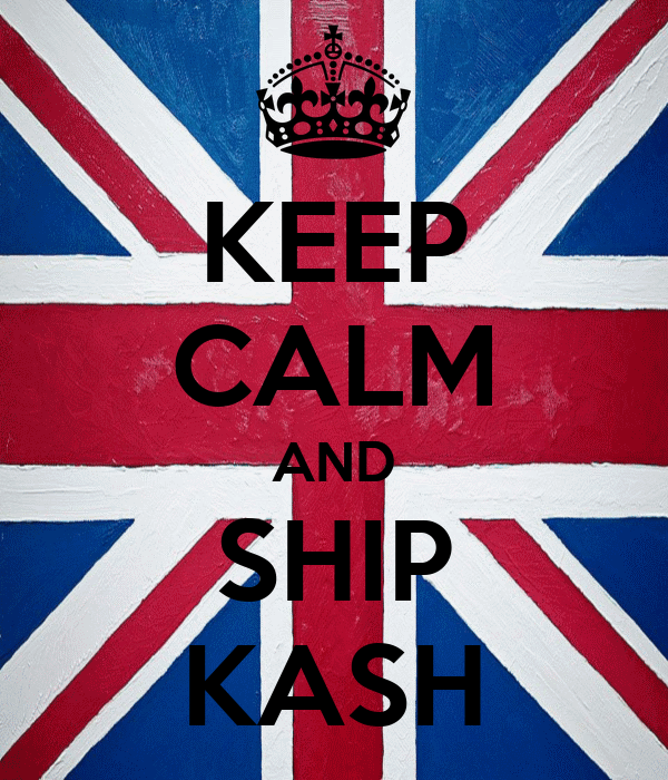 KEEP CALM AND SHIP KASH