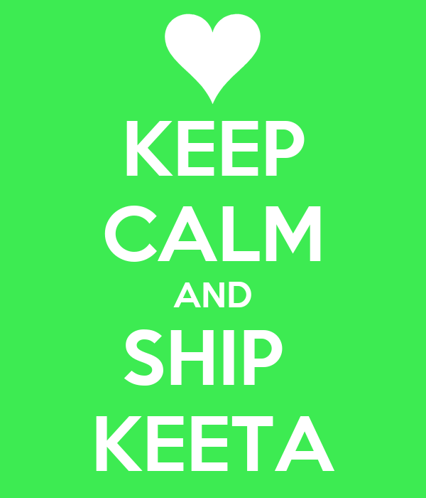 KEEP CALM AND SHIP  KEETA