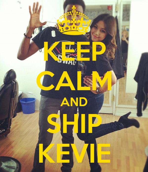 KEEP CALM AND SHIP KEVIE