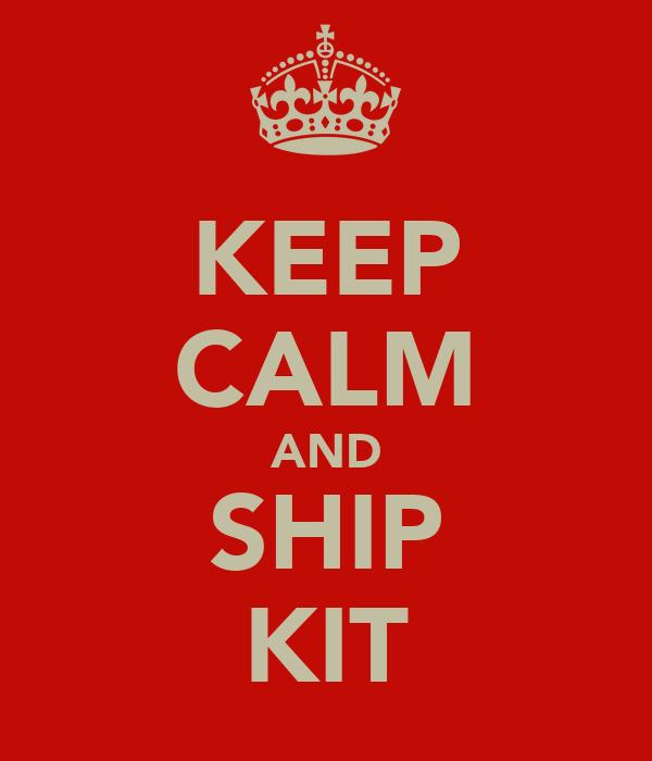 KEEP CALM AND SHIP KIT