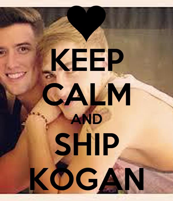 KEEP CALM AND SHIP KOGAN