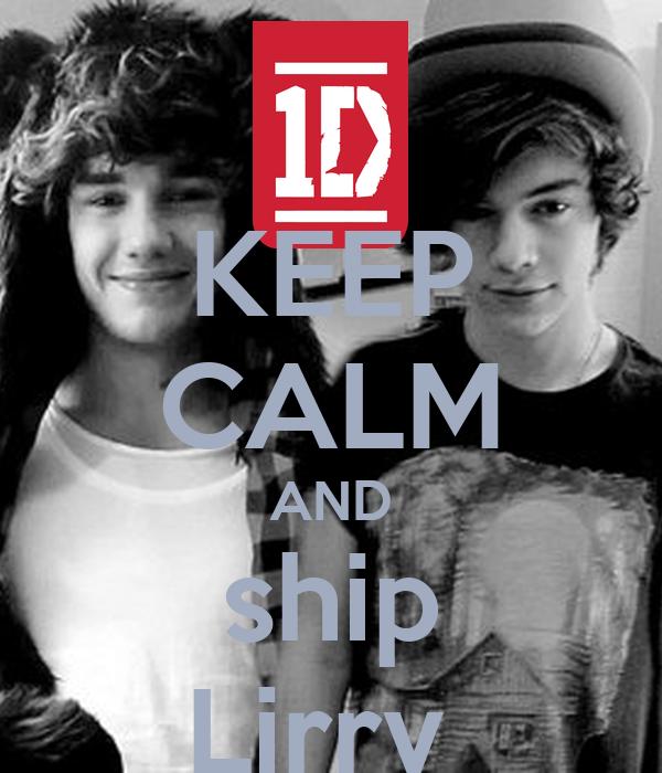 KEEP CALM AND ship Lirry