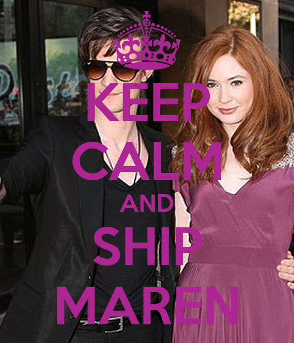 KEEP CALM AND SHIP MAREN