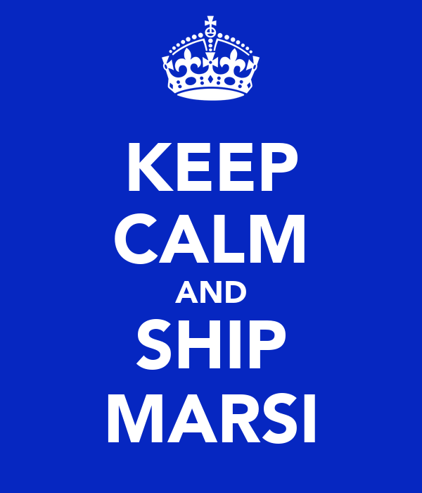 KEEP CALM AND SHIP MARSI