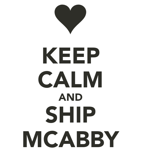 KEEP CALM AND SHIP MCABBY