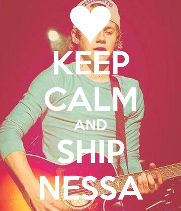 KEEP CALM AND SHIP NESSA