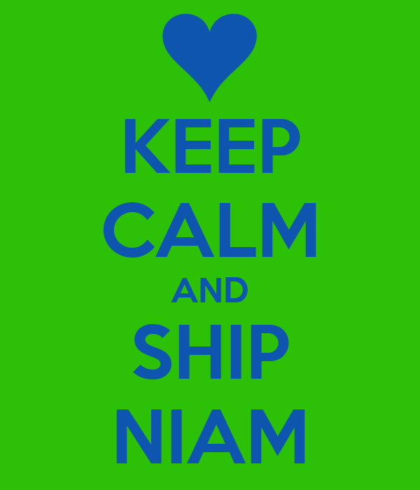 KEEP CALM AND SHIP NIAM