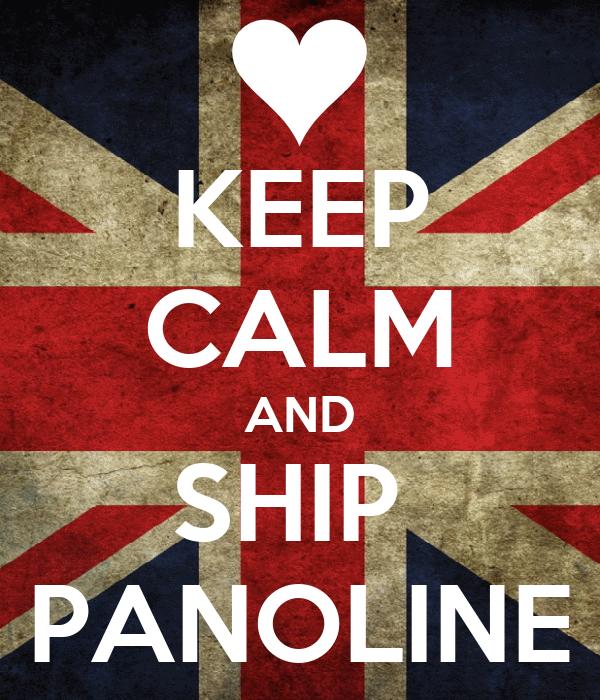 KEEP CALM AND SHIP  PANOLINE