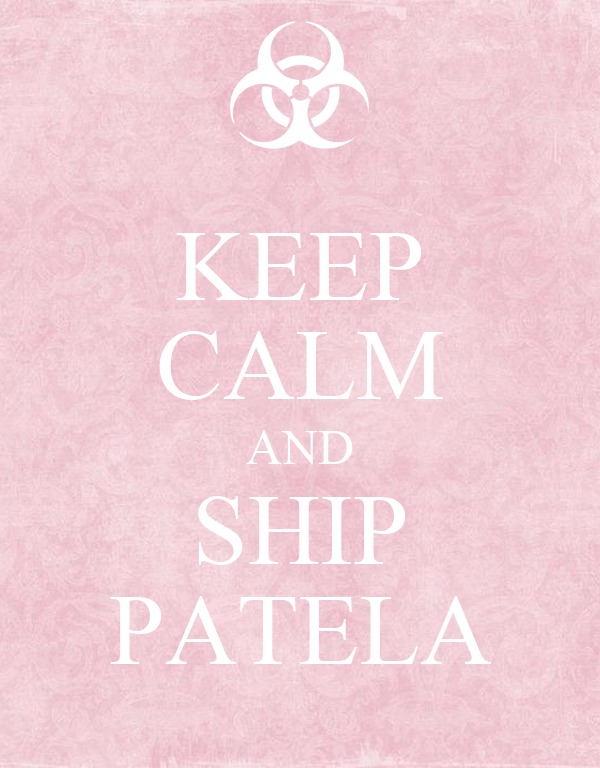 KEEP CALM AND SHIP PATELA