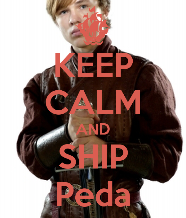 KEEP CALM AND SHIP Peda