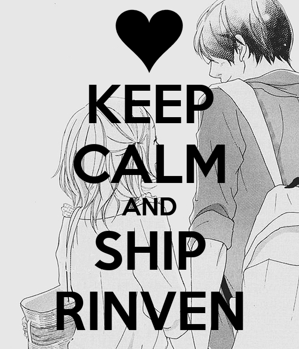 KEEP CALM AND SHIP RINVEN