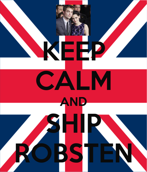 KEEP CALM AND SHIP ROBSTEN