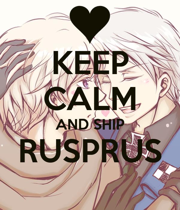 KEEP CALM AND SHIP RUSPRUS