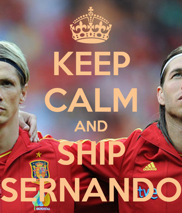 KEEP CALM AND SHIP SERNANDO