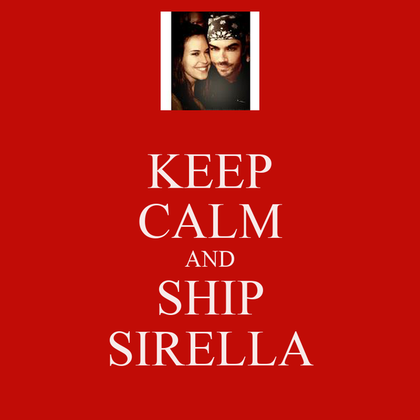 KEEP CALM AND SHIP SIRELLA