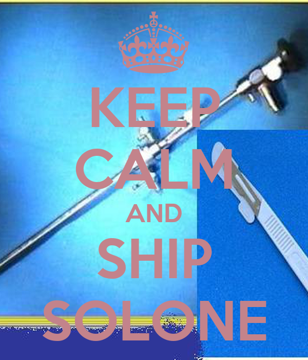 KEEP CALM AND SHIP SOLONE