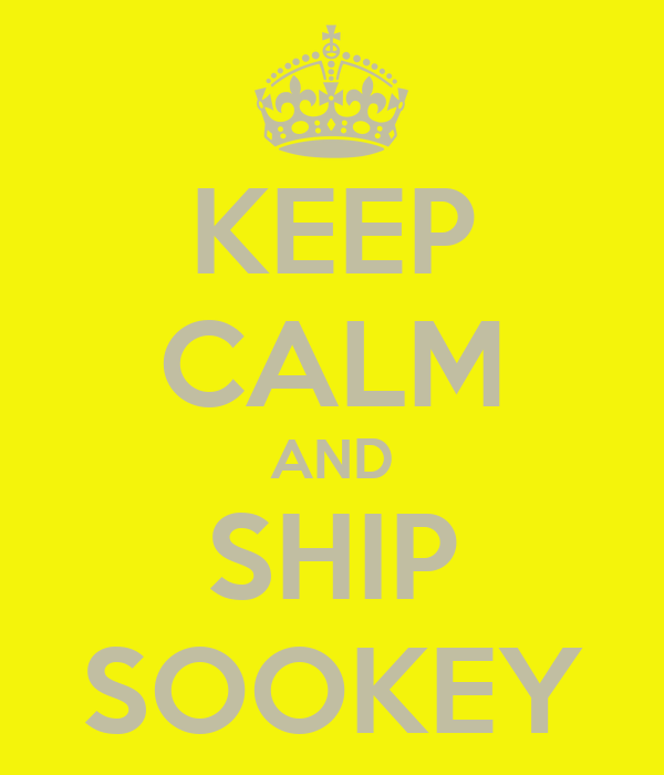 KEEP CALM AND SHIP SOOKEY