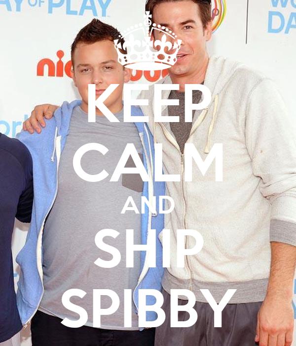 KEEP CALM AND SHIP SPIBBY