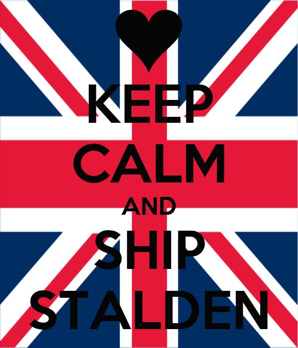 KEEP CALM AND SHIP STALDEN
