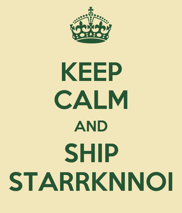 KEEP CALM AND SHIP STARRKNNOI