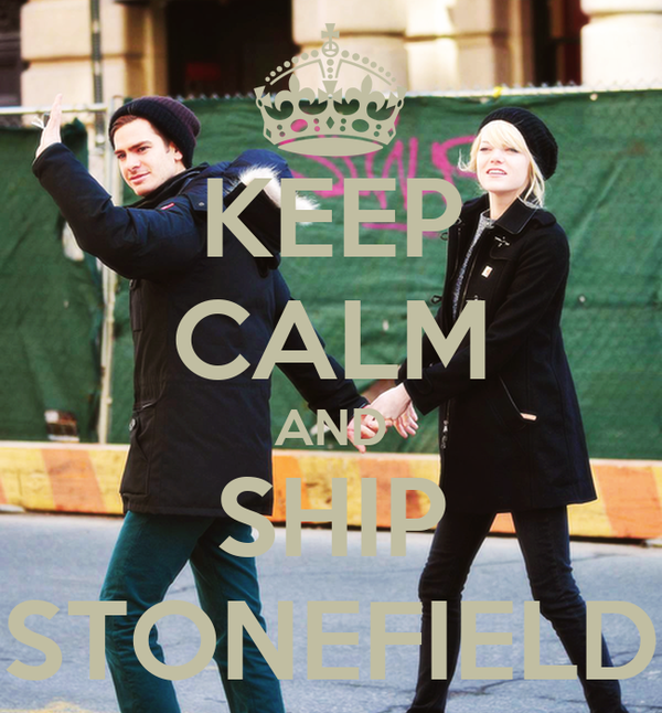 KEEP CALM AND SHIP STONEFIELD