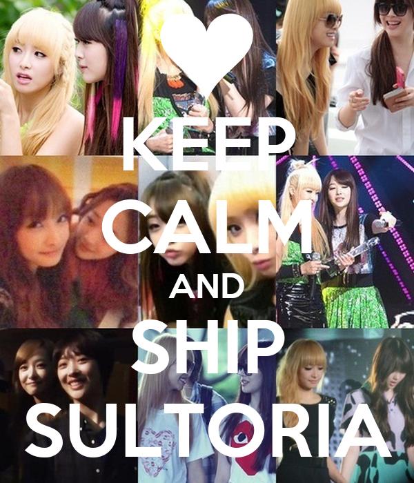 KEEP CALM AND SHIP SULTORIA