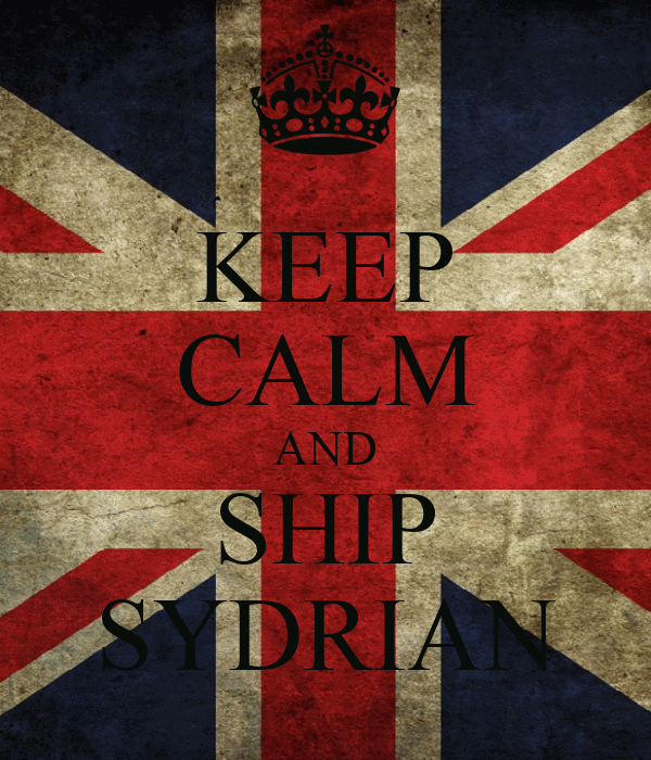 KEEP CALM AND SHIP SYDRIAN