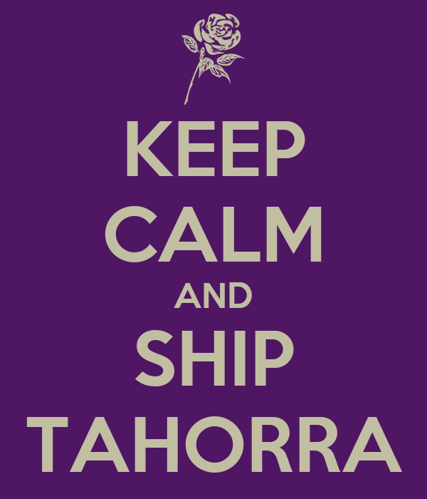 KEEP CALM AND SHIP TAHORRA