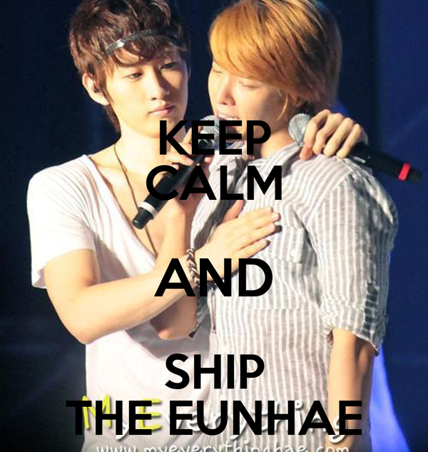 KEEP CALM AND SHIP THE EUNHAE