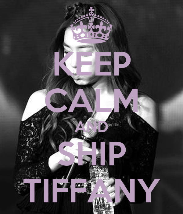 KEEP CALM AND SHIP TIFFANY